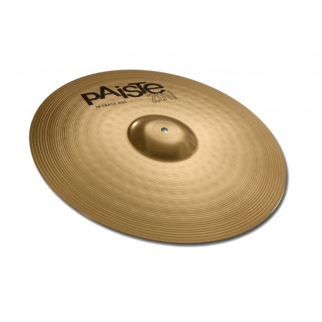 "CRASH RIDE 18"" PAISTE 201 BRONZE"