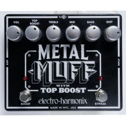 METAL MUFF TOP BOOST ELECTRO-HARMONIX